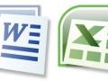 Iconos Word y Excel de MS Office